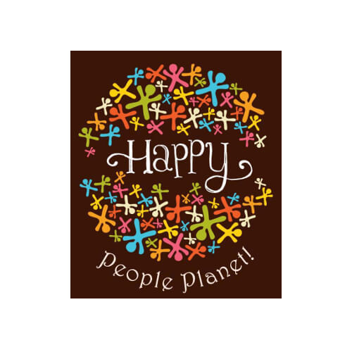 Happy people planet logo